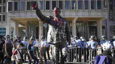 Frank Rizzo Statue Is Removed In Philadelphia: 'It Is Finally Gone,' Mayor Says