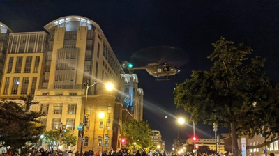 D.C. National Guard Opens Investigation Into Low-Flying Helicopter During Protests