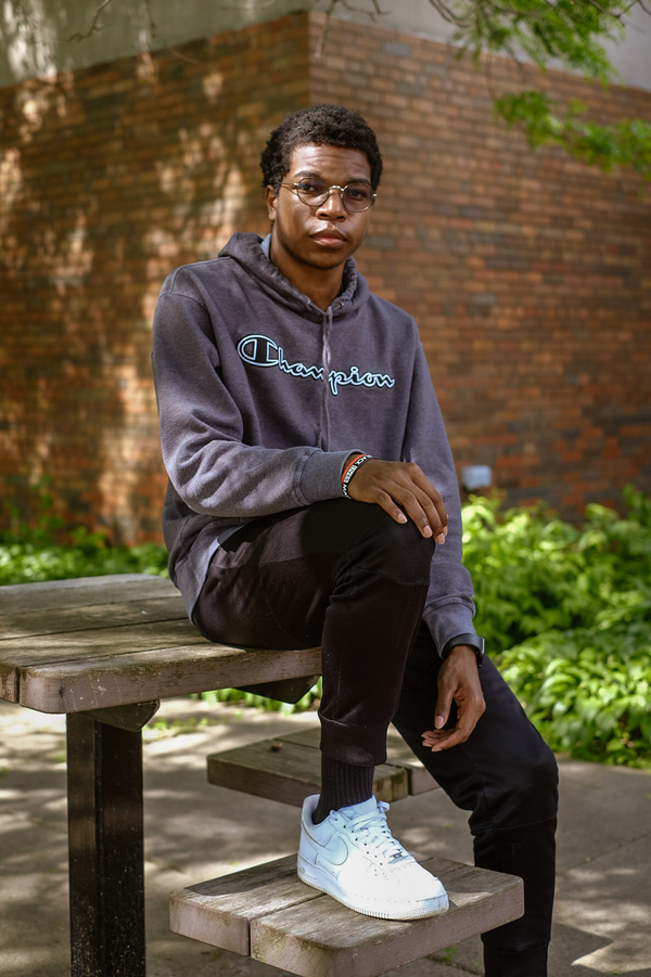 Shawn, 17, is a junior in high school in Minneapolis. School is fine, but what he really loves is track. To Shawn, running track feels like freedom.