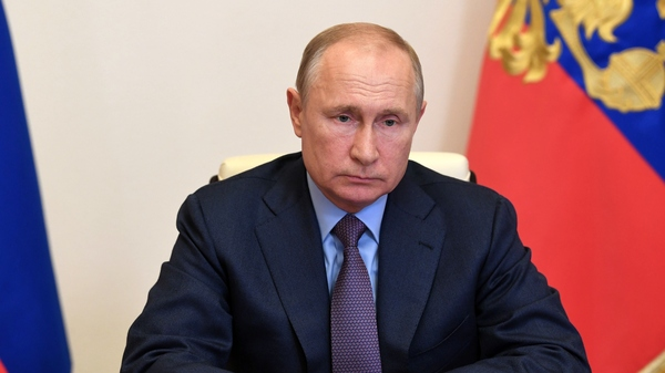 Russian President Vladimir Putin, shown here earlier this month, declared a state of emergency on Wednesday in a region of Siberia after more than 20,000 tons of diesel fuel spilled from a power plant storage facility and fouled waterways.