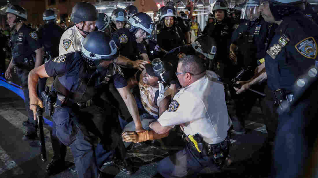 Confrontations Between Police And Protesters In New York; Buffalo Protester Injured