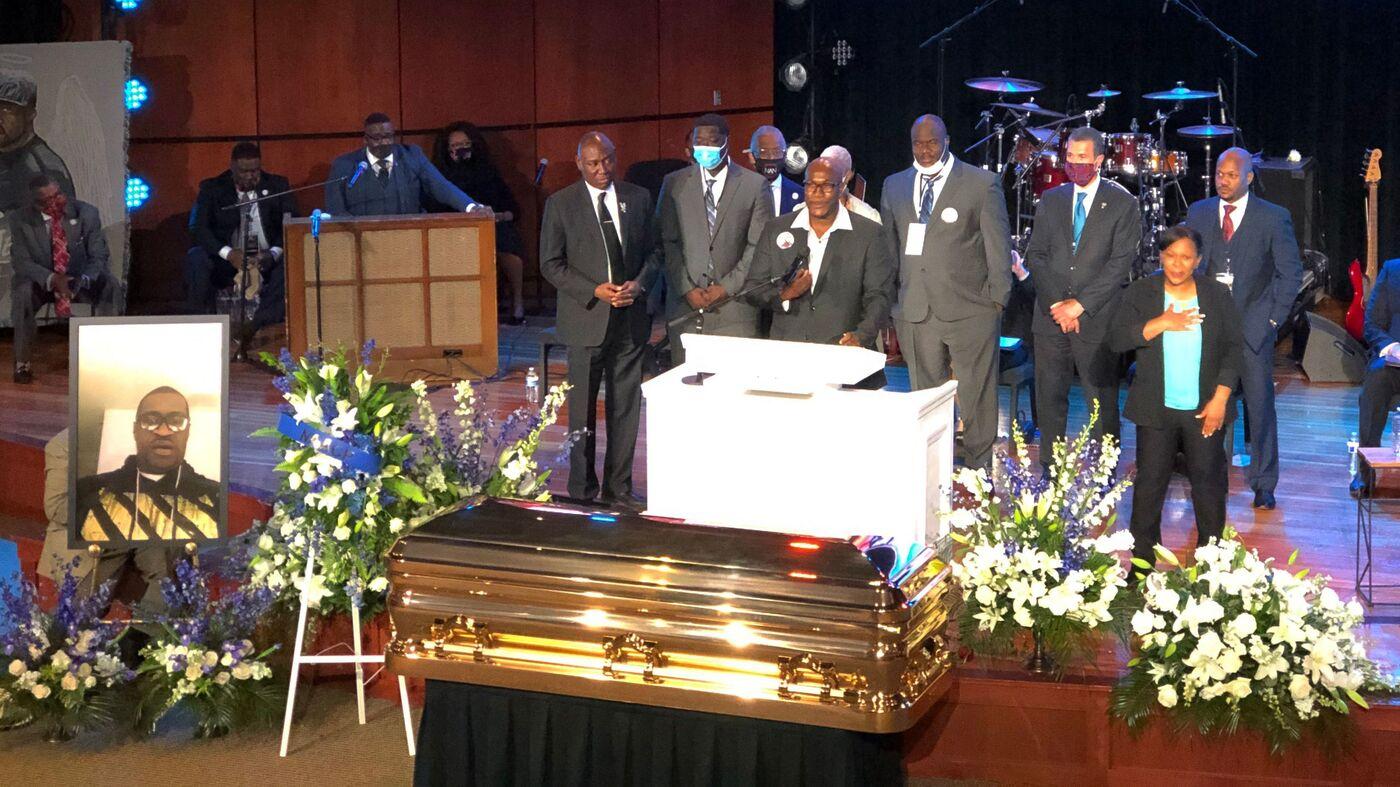 The Rev Al Sharpton Delivers Eulogy At George Floyd S Memorial Npr