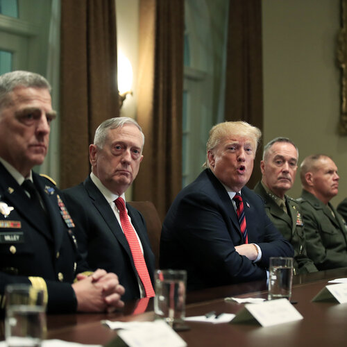 Former Defense Secretary Mattis Issues Stunning Rebuke Of Trump