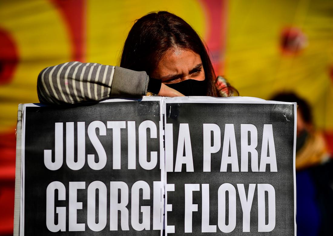 O Sul Global mostra solidariedade a George Floyd: cabras e refrigerantes: NPR 6
