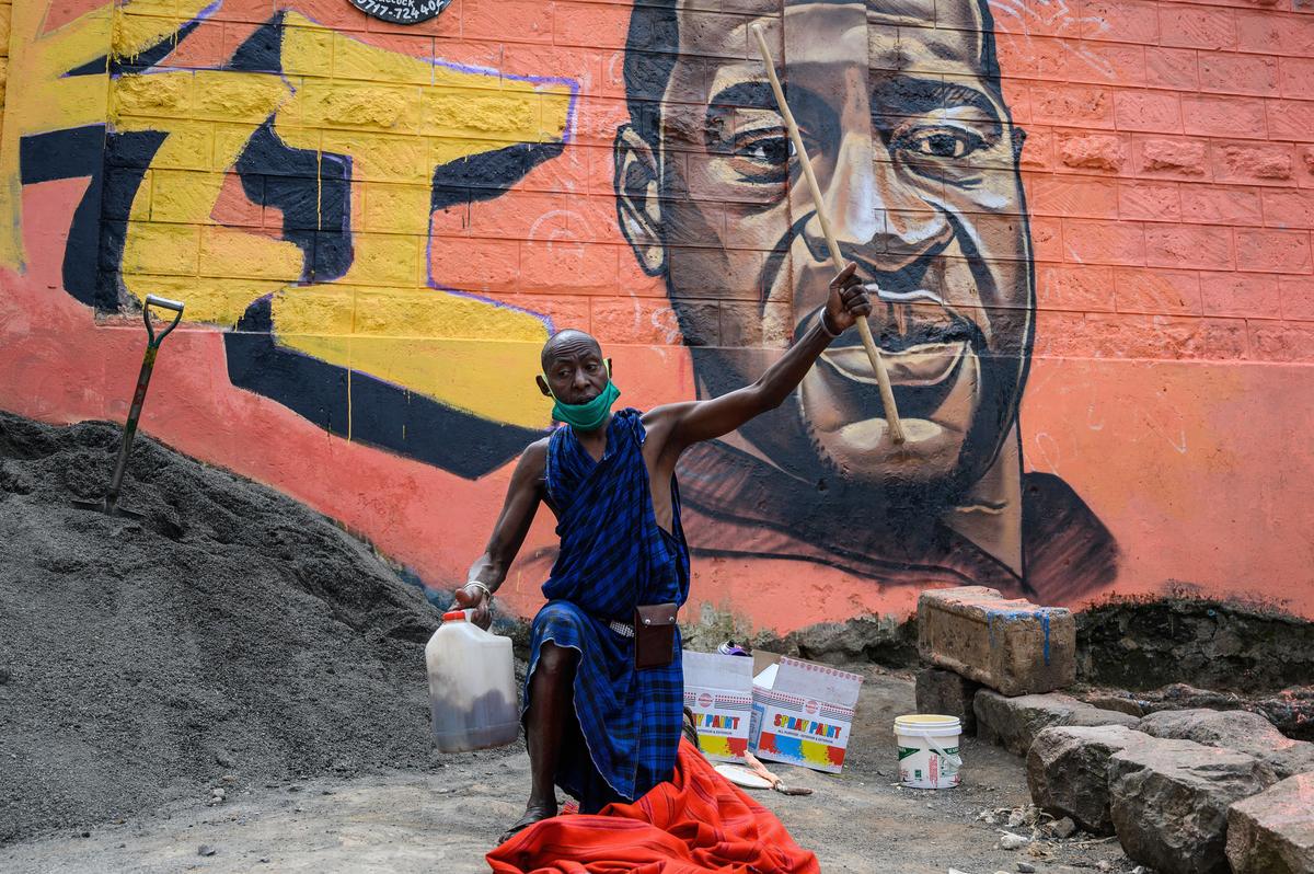 O Sul Global mostra solidariedade a George Floyd: cabras e refrigerantes: NPR 3