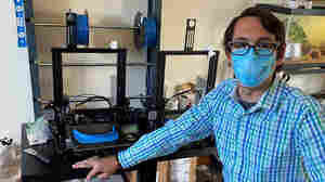 Music Teacher's 'Weekend' Project Turns Into Almost 40,000 Face Shields