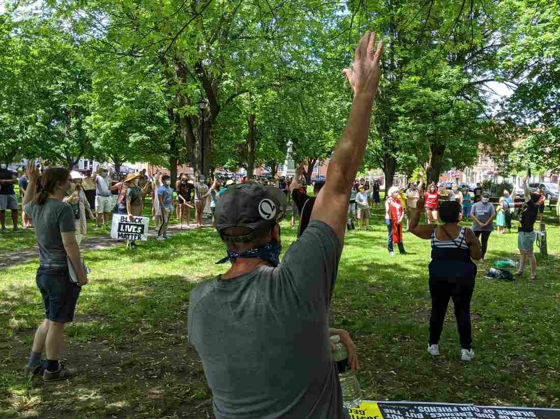 Crowd In Canton Joins Small New York Towns Protesting Racism, Police Brutality 2