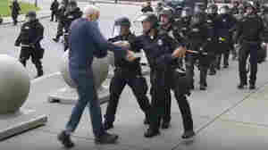 2 Buffalo Police Officers Charged With Shoving Protester To Ground