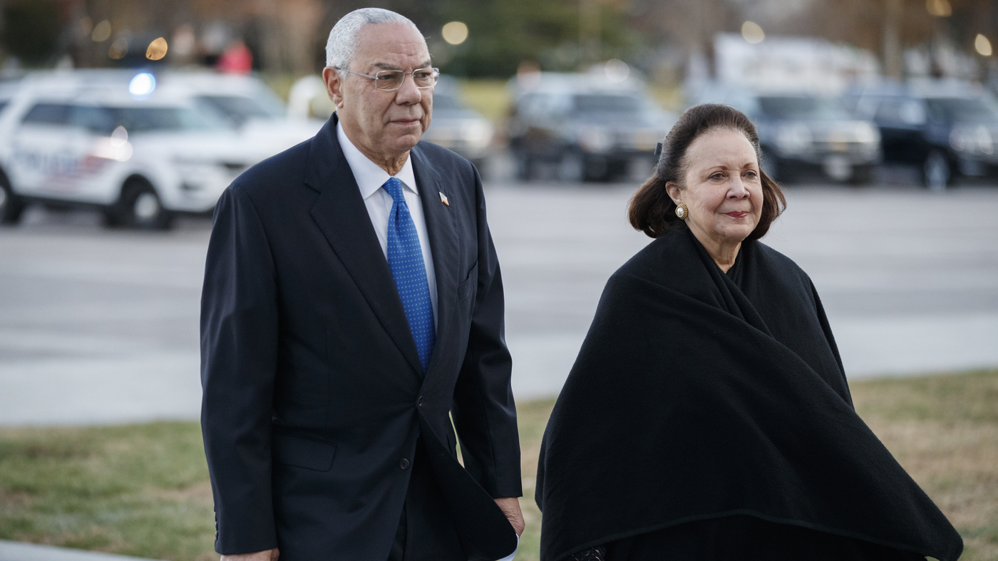 Colin Powell Says He's Voting For Biden