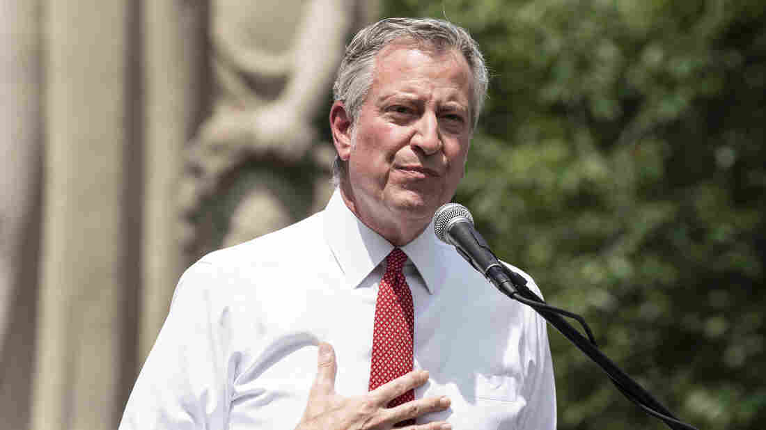 De Blasio Promises Cuts To NYPD, Ends NYC Curfew
