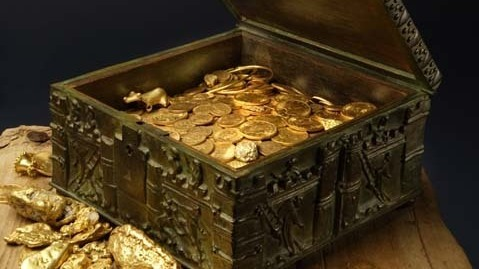 Hidden Treasure Chest Filled With Gold And Gems Is Found In Rocky Mountains