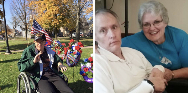 Matt Snider was in a Michigan nursing home for many years with Huntington's Disease. Either his wife Nancy, her daughter or a close family friend saw Matt every day.