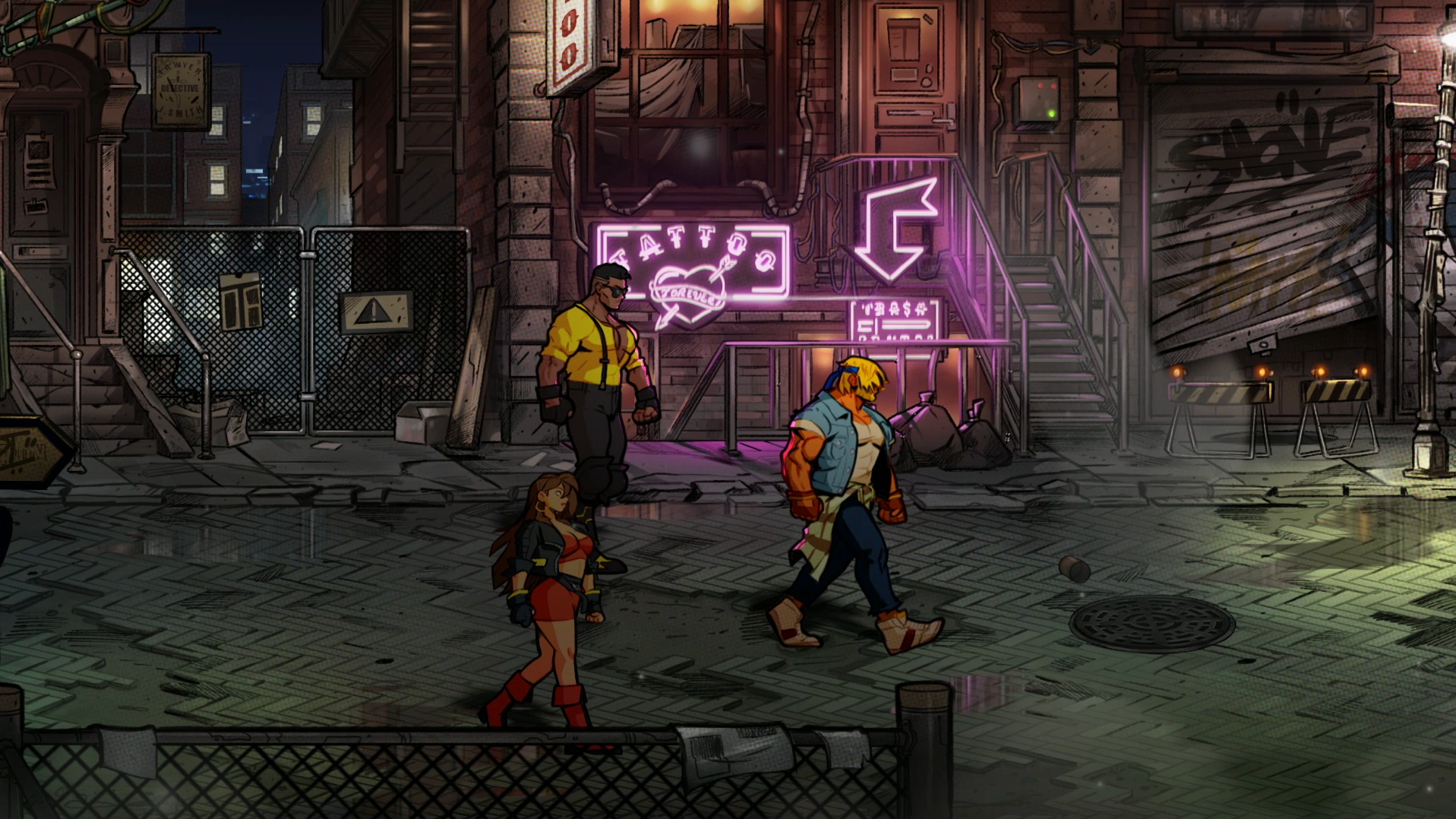 How Streets Of Rage 4 Reimagined Gaming S Most Iconic Rave Npr