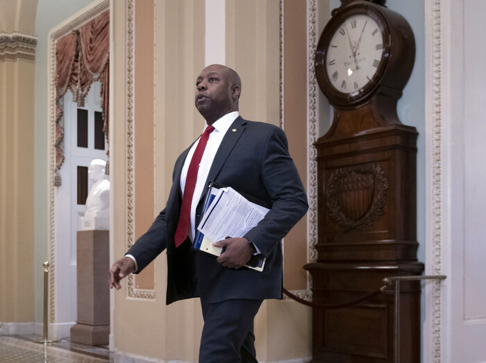 Senate Republicans, Led by Tim Scott, Begin Drafting Their Own Plan for Police Reform
