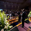 George Floyd's family, Demonstrations from Whose Death, say final goodbye