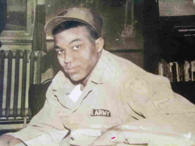 Roman Ducksworth in uniform. The Army corporal was shot to death by a white Mississippi police officer in 1962.