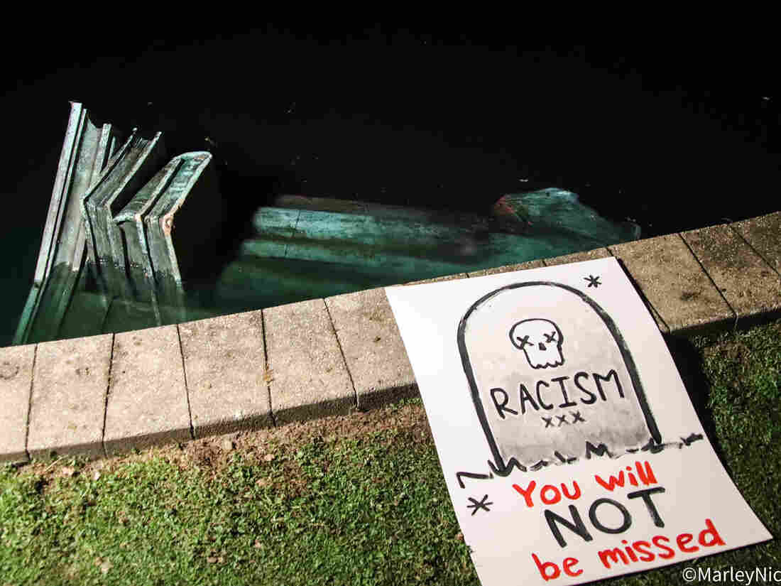 Amid Protests, Christopher Columbus Statues Take Flak In Richmond, Boston