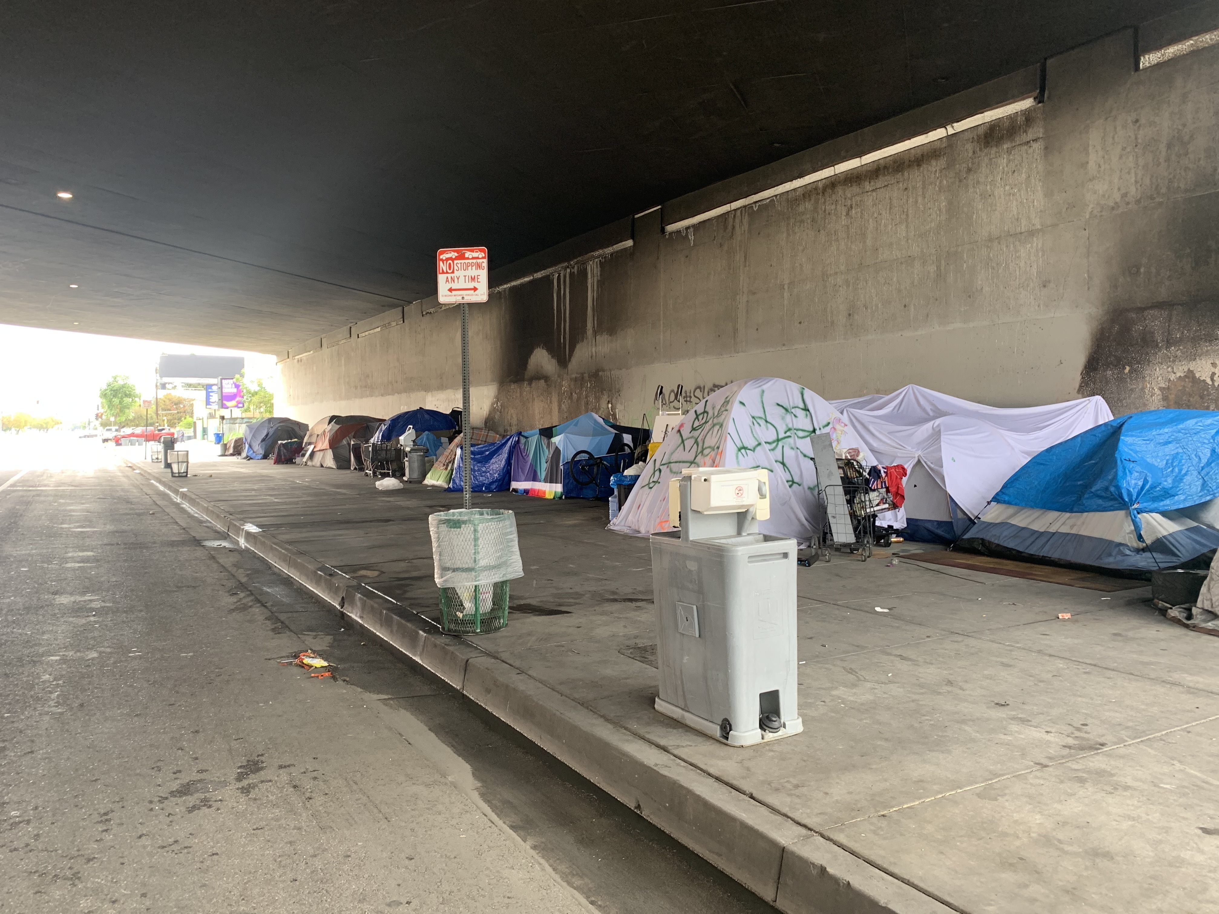 Homelessness Rises In Los Angeles : NPR