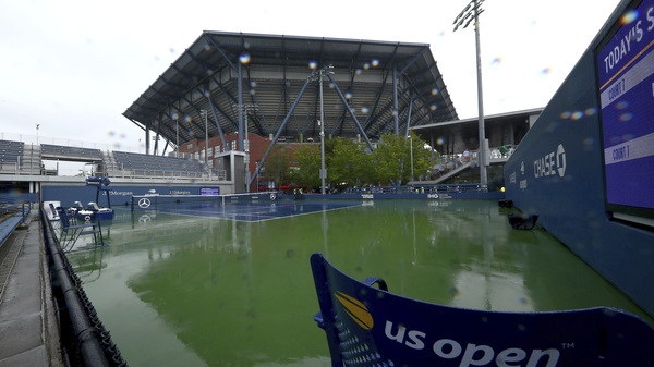 This photo of Billie Jean King National Tennis Center was taken during the second round of the US Open tennis championships in 2019.