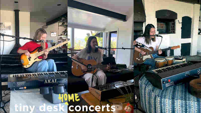HAIM: Tiny Desk (Home) Concert
