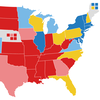 2020 electoral map rating: Biden has an edge over Trump, with 5 months to go