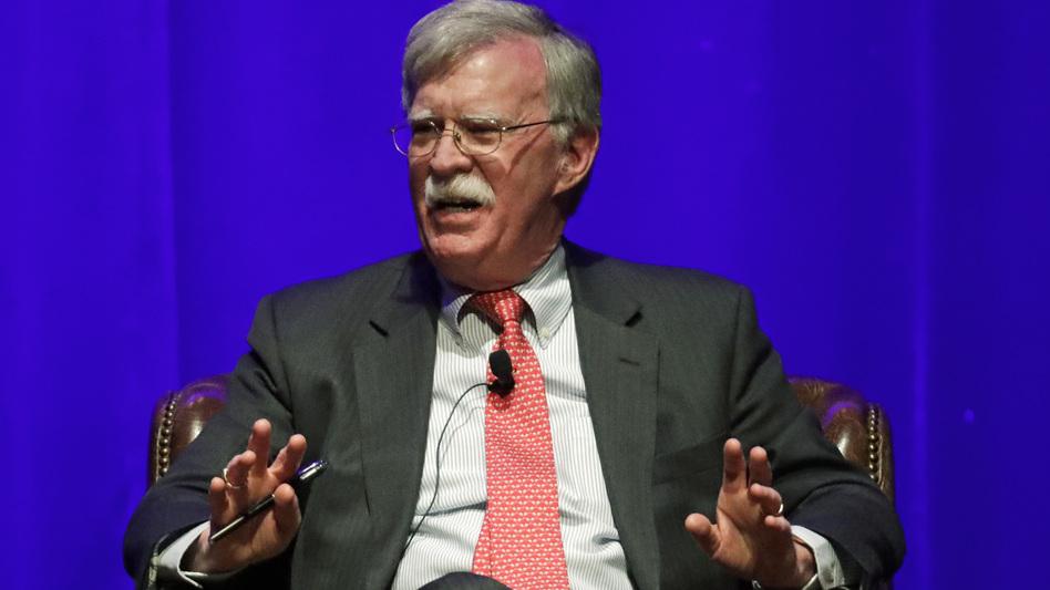 Former national security adviser John Bolton paints a critical portrait of President Trump in a new memoir set for publication soon. (Mark Humphrey/AP)