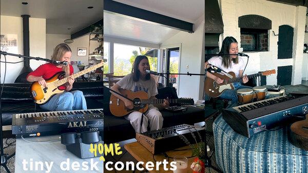HAIM Tiny Desk Home Concert