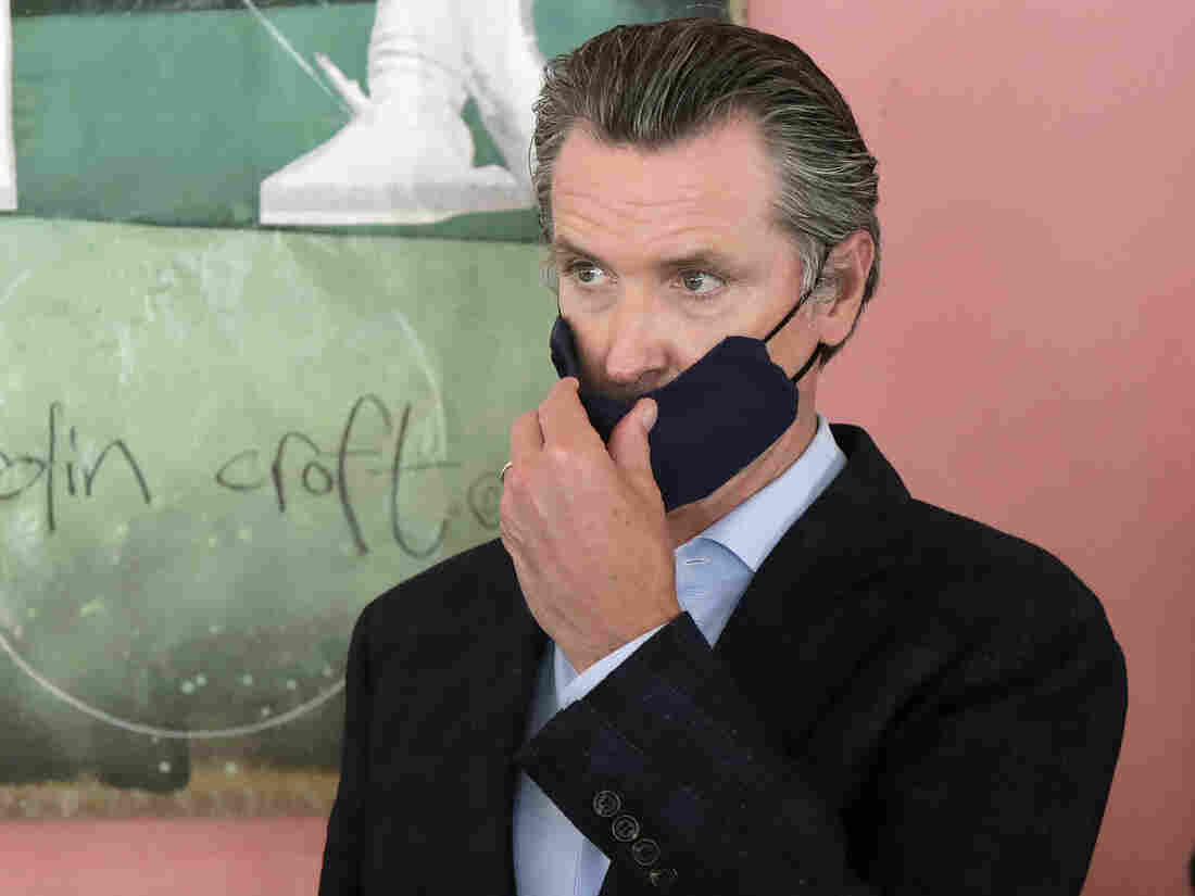 Newsom mandates masks for all Californians in most settings