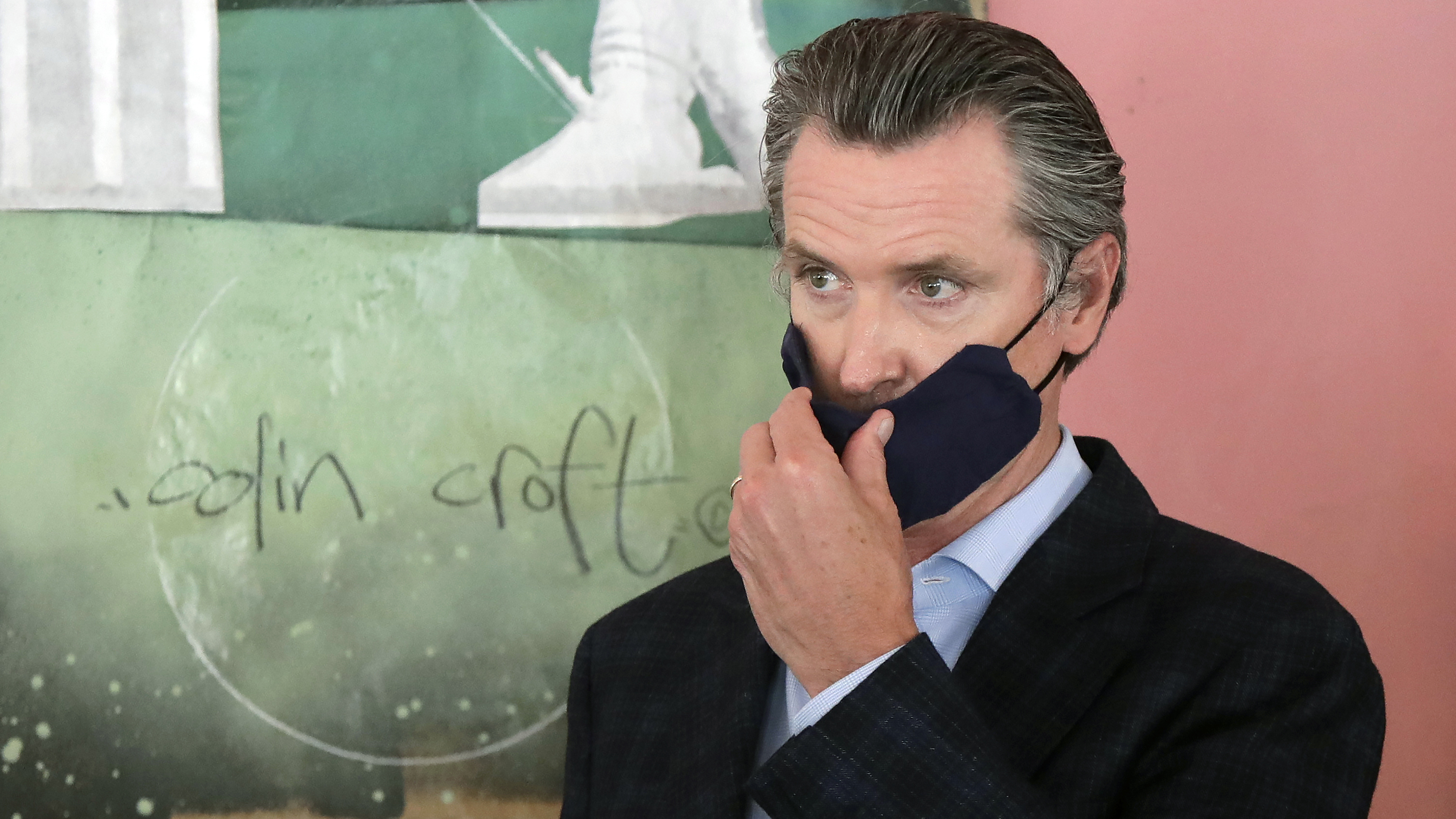 Gov. Gavin Newsom said requiring masks is a necessary step as Californians continue to ignore recommended face-covering guidelines.