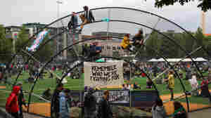 'Remember Who We're Fighting For': The Uneasy Existence Of Seattle's Protest Camp