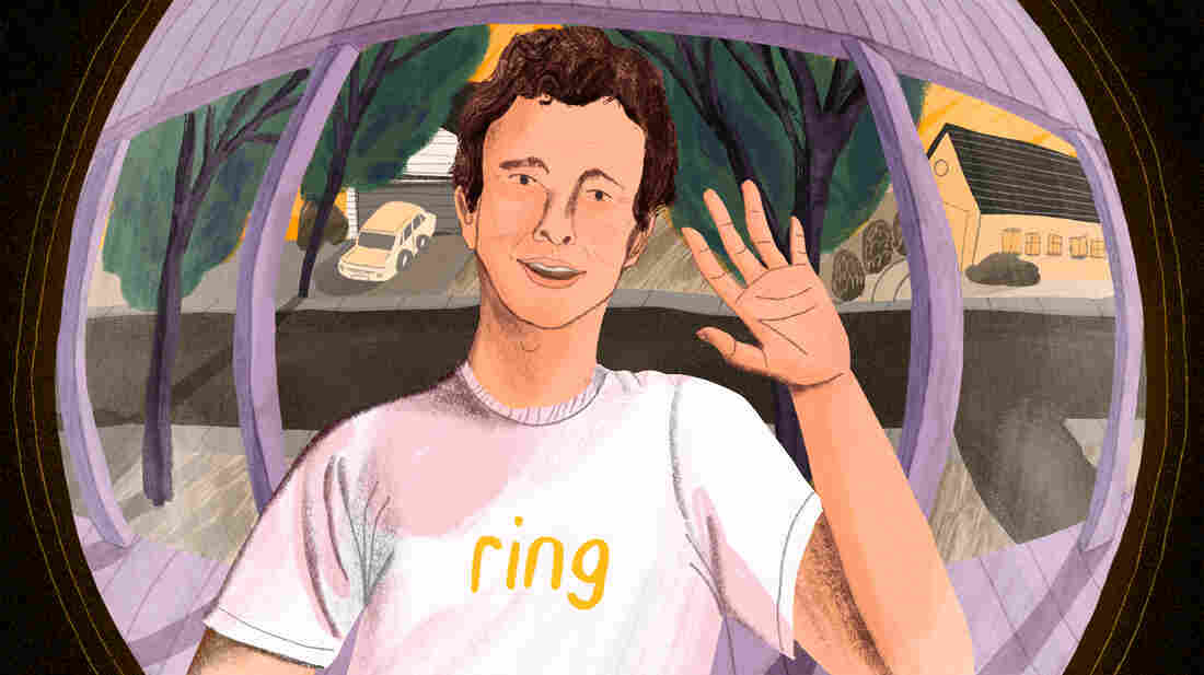 Jamie Siminoff is the founder of Ring.