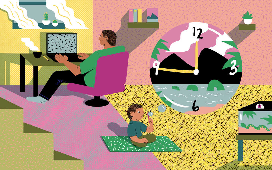 NPR's Michaeleen Doucleff shares tips on how to teach your child to entertain themselves.