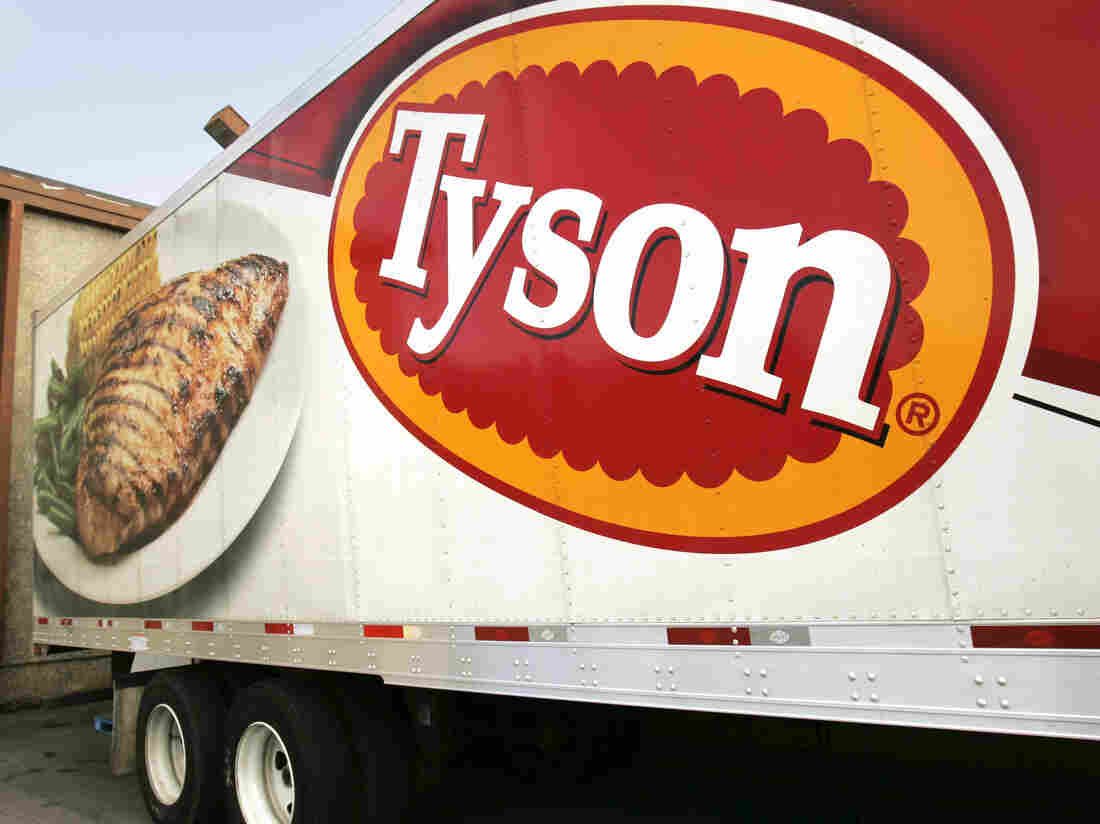 Hundreds test positive at Tyson Foods plant in Arkansas