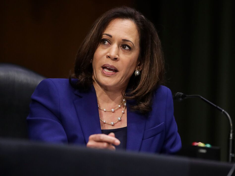 Kamala Harris Is Seen As The Clear Front Runner To Be Joe Biden S Running Mate Capradio Org
