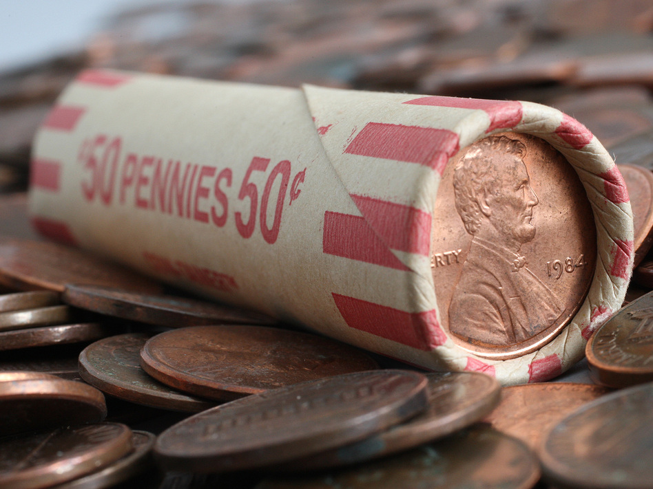 Banks around the U.S. are running low on nickels, dimes, quarters and even pennies because of problems with production and distribution caused by coronavirus pandemic. (Stephen Hilger/Bloomberg via Getty Images)