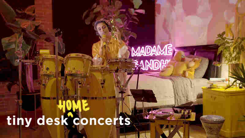 Madame Gandhi: Tiny Desk (Home) Concert