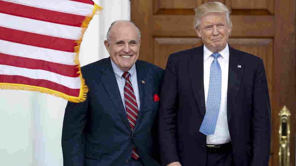 Federal Investigators Search Rudy Giuliani's Apartment Over Ukraine Ties