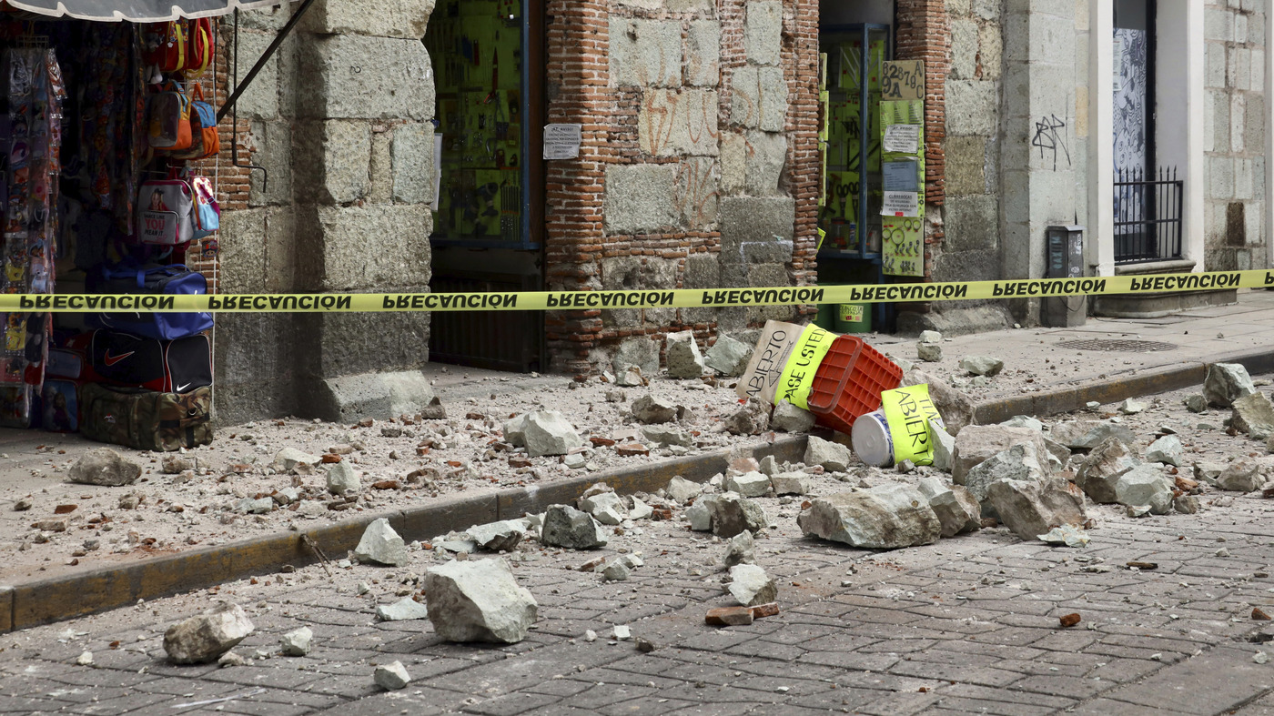 Deadly Earthquake Rattles Southern Mexico - NPR thumbnail