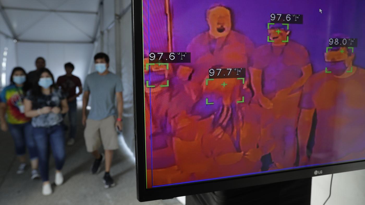 Texas reporta novo recorde diário de todos os tempos: atualizações ao vivo do Coronavirus: NPR