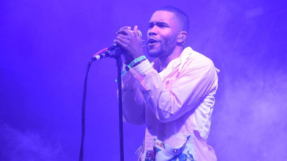 """Frank Ocean's song """"Nights"""" is on Gerrick D. Kennedy's Pride playlist, which includes songs he says """"remind me to stand in my power as a Black queer man in America."""" (Jason Merritt/Getty Images)"""
