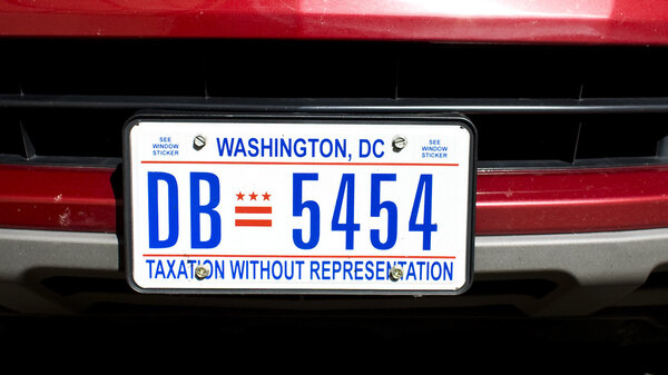 For decades, D.C. license plates have bemoaned the district