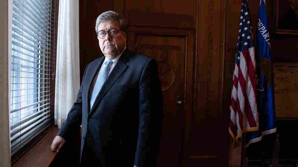 Attorney General Barr Says DOJ Acts Independent Of Trump's Interests