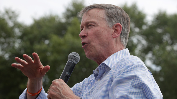Former Colorado Gov. John Hickenlooper is considered one of the Democrats