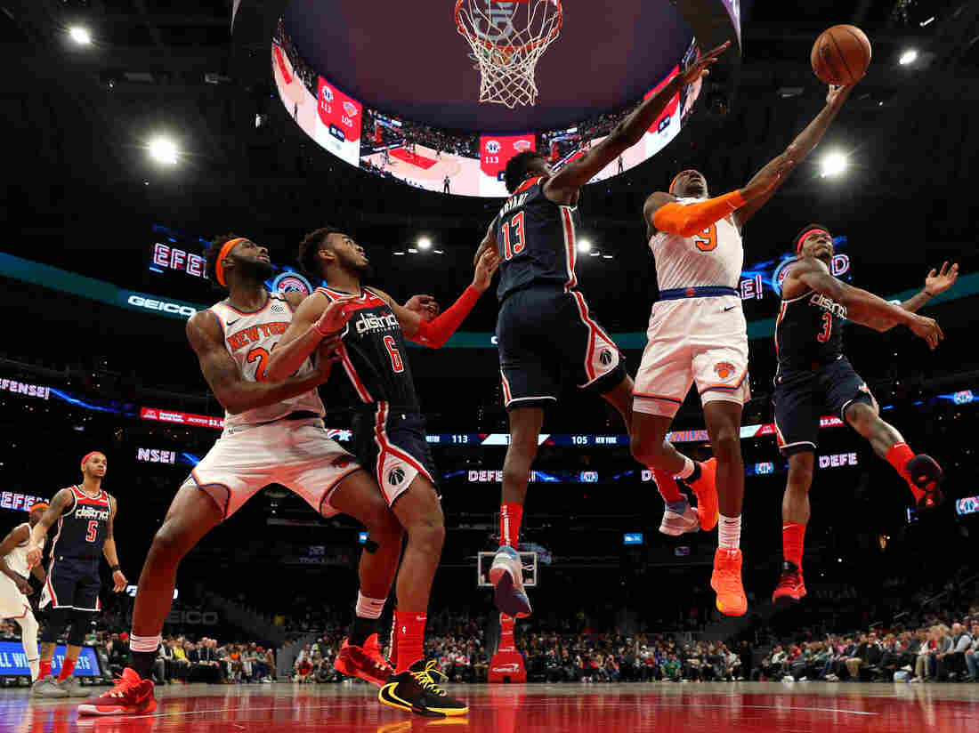National Basketball Association players test positive for coronavirus