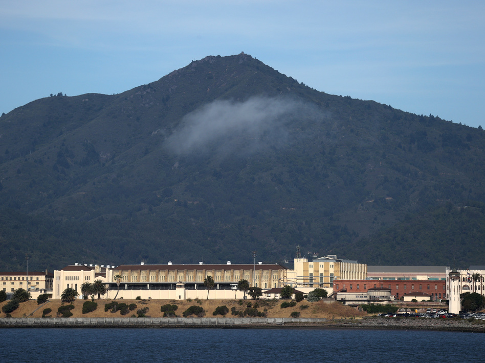 Health officials are working to keep a fast-moving coronavirus outbreak at California's San Quentin State Prison from spreading into the broader Bay Area community. (Justin Sullivan/Getty Images)
