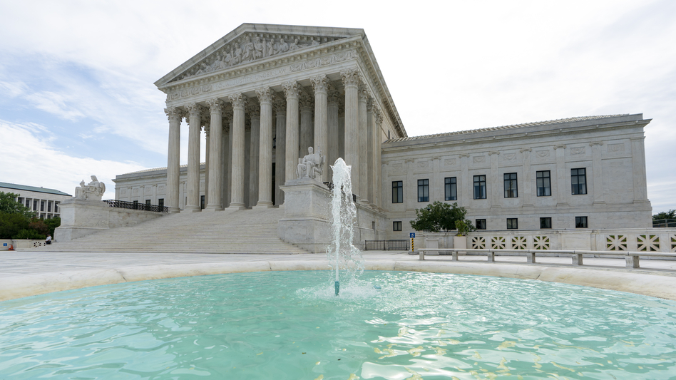 """The president swiftly responded to the Supreme Court rulings on Twitter saying the legal battle, which has not been put to rest, is """"not fair to this Presidency or Administration!"""" (J. Scott Applewhite/AP)"""