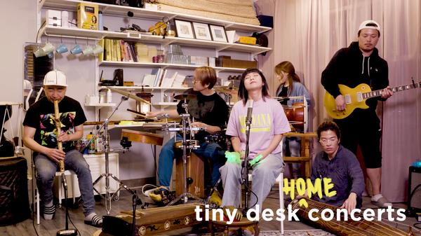 Coreyah play a Tiny Desk (home) concert.