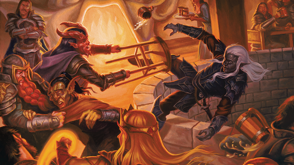 In <em>Dungeons & Dragons, </em>races like orcs and the dark-skinned underground elves known as drow will no longer be inherently evil. (Courtesy of Wizards of the Coast)