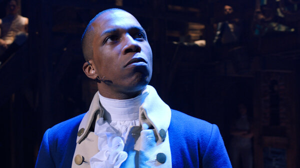 Leslie Odom Jr. originated the role of Aaron Burr on Broadway in Hamilton. Like the rest of the original cast, he's available to watch at home in the film, which arrives Friday on Disney+.