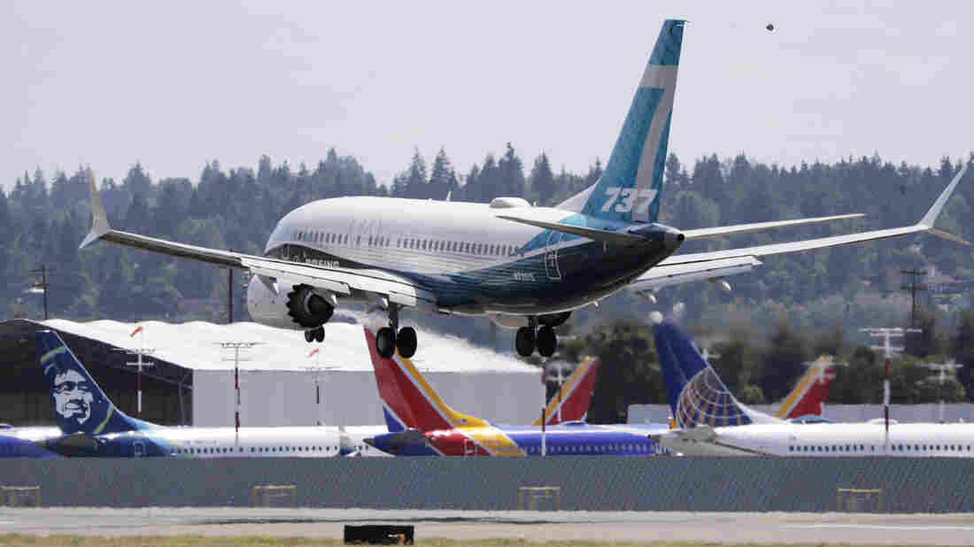 FAA Begins Test Flights For Boeing's Troubled 737 Max